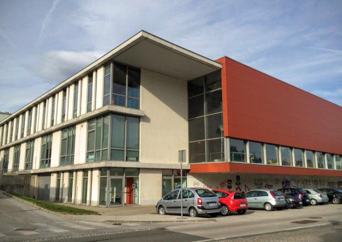 Kopališče Pristan, Športni objekti Maribor