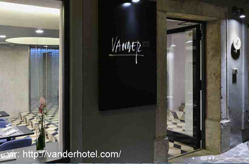 Urbani resort, Hotel Vander