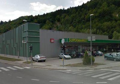 Supermarket Tuš, Idrija