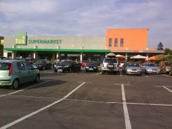 Supermarket Tuš, Kozina